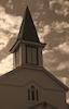 White Church Sunset 2 © Miriam A. Kilmer