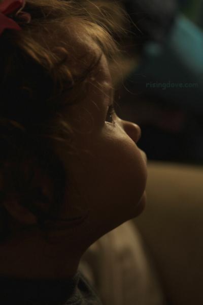 Toddler Profile © Miriam A. Kilmer