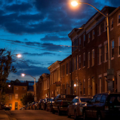 Federal Hill at Night © Jennifer Schafer
