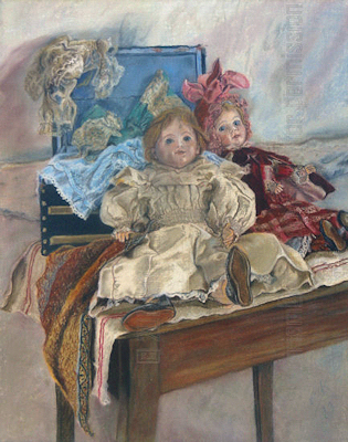 Mlle. Pinchon's Dolls &copy; Miriam A. Kilmer