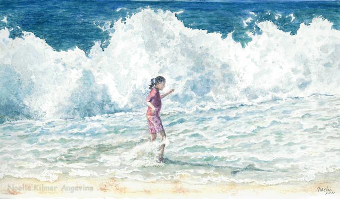 Dancing In Hawaii; Noelie K. Angevine