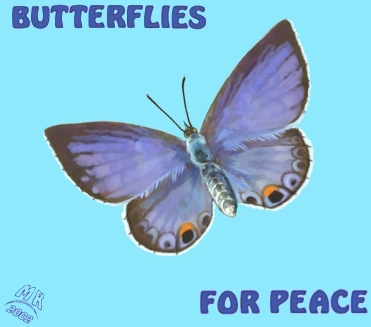butterflies for peace image